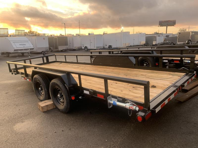 2020 PJ Trailers 20 ft - Angle Pipetop (P8) Car / Racing Trailer
