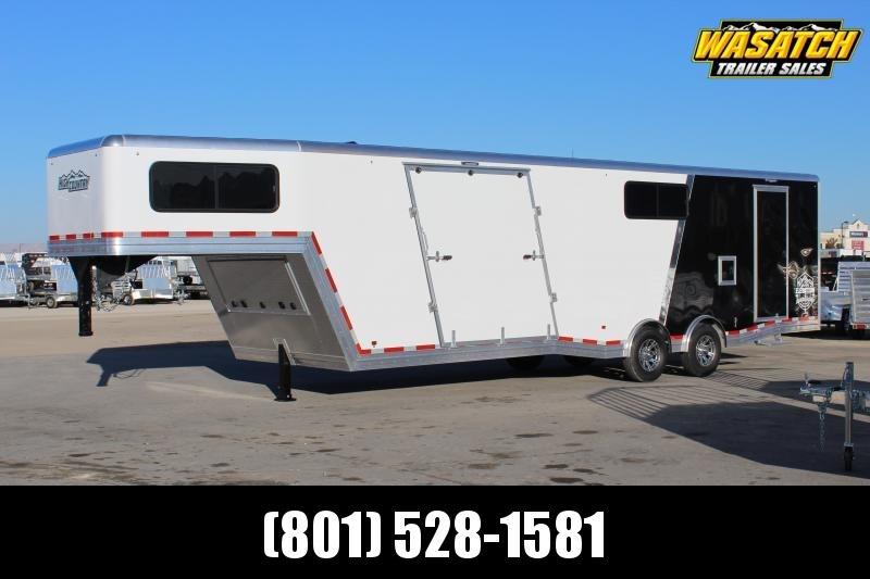 High Country 8.5x38 All Sport Elevation Gooseneck Aluminum Snowmobile Trailer