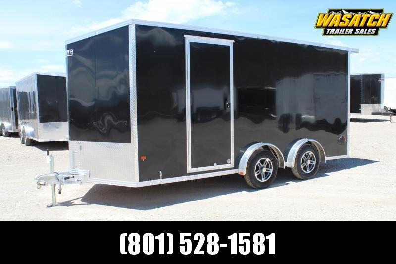 Alcom 7.5x16 EzHauler Enclosed Aluminum Cargo Trailer