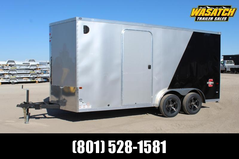 Charmac Trailers 7.5x16 Stealth Enclosed Cargo Trailer w/ UTV Package