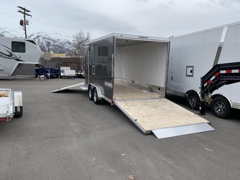 2020 Haulmark 7.5x20 Aluminum Venture Snowmobile Trailer