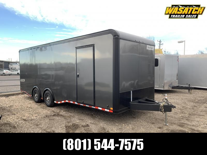 2020 Haulmark 8.5x24 Aluminum Edge Car / Racing Trailer