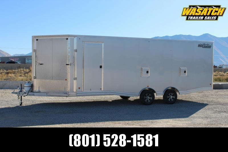 High Country 8.5x29 Peak Value Aluminum Snowmobile Trailer