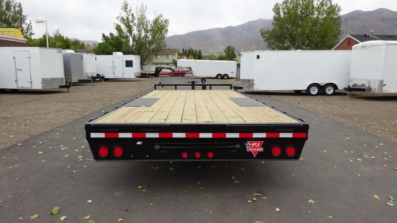 """PJ Trailers 8.5x20 8"""" I-Beam Deckover (F8) Equipment Trailer"""