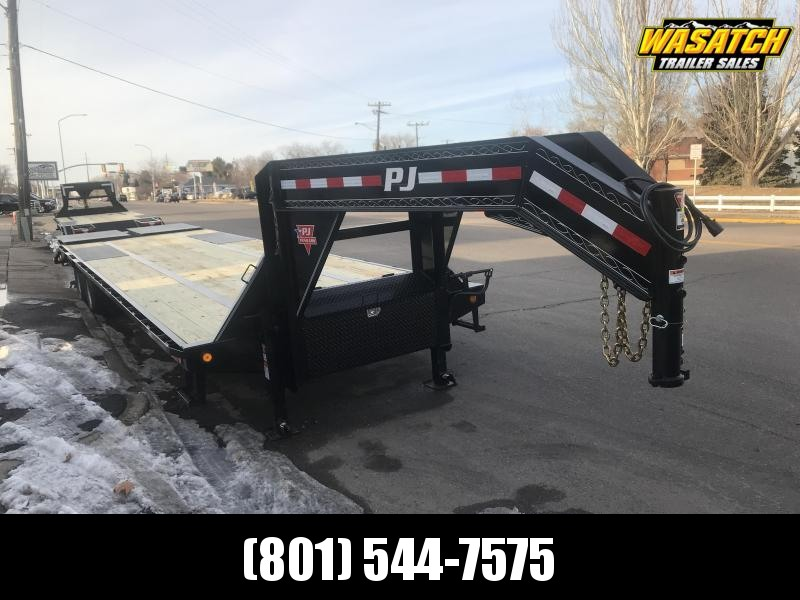 PJ 32ft - Low-Pro w/ Duals (LD) Flatbed Trailer