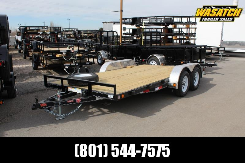 2020 PJ Trailers 16 ft - 4 in. Channel Carhauler (C4) Car / Racing Trailer