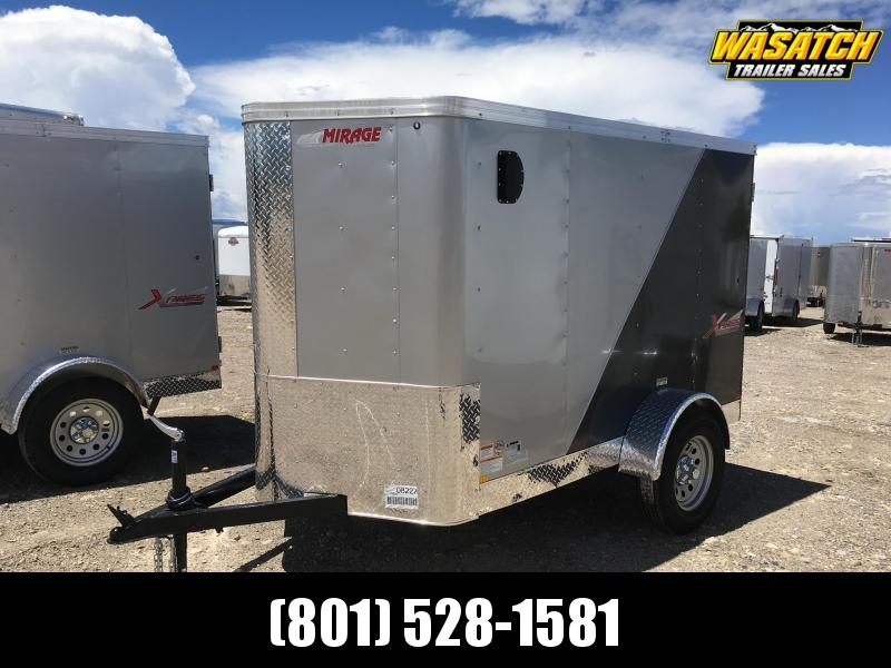 Mirage 5x8 Xpress Enclosed Steel Cargo w/ V-nose