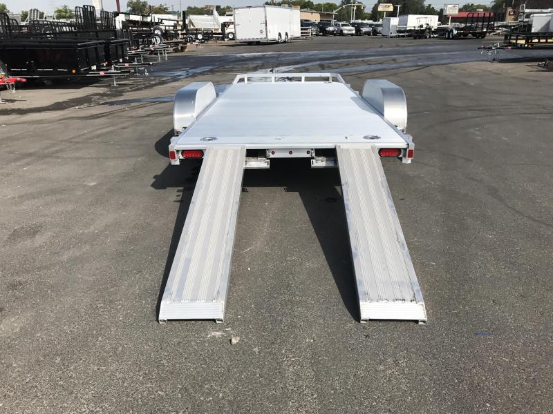 Aluma 7x18 Tilt Tandem Utility Trailer