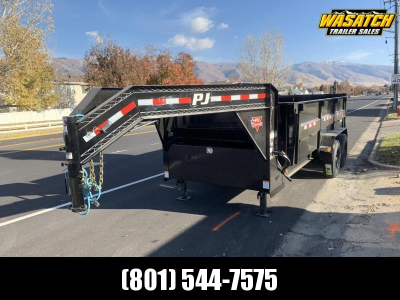 2020 PJ Trailers HD Low Pro (DE) Dump Trailer