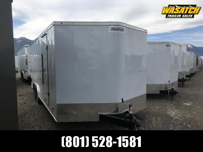 Haulmark 8.5x16 Passport Enclosed Steel Cargo w/ V-Nose