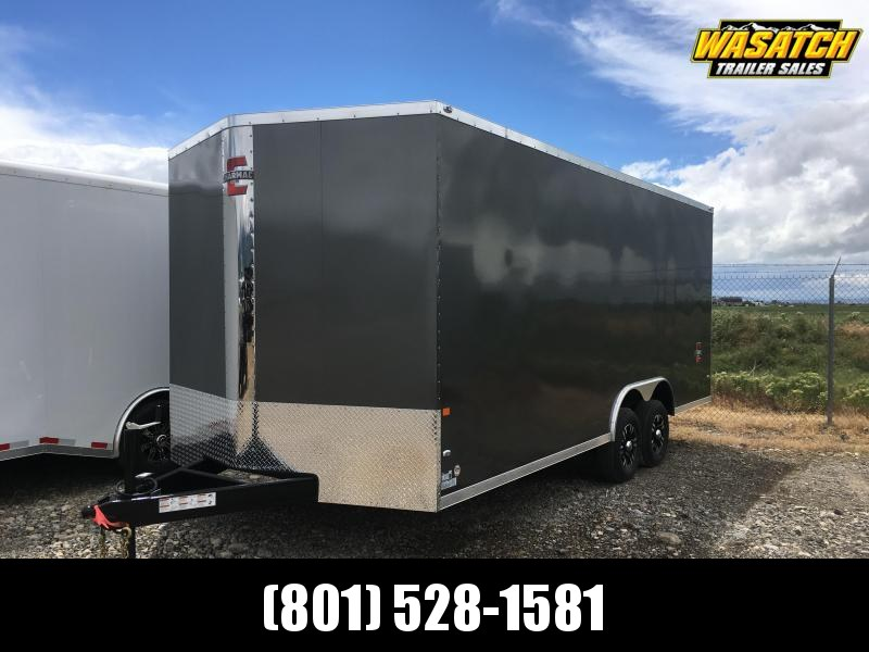 Charmac 100x20 Stealth Enclosed Steel Cargo w/ V-Nose