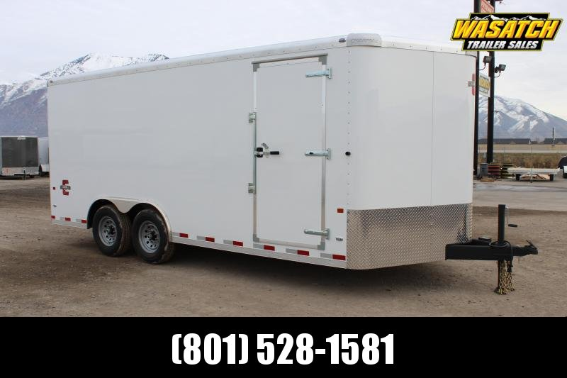 Charmac Trailers 8.5x18 Commercial Duty Enclosed Cargo Trailer