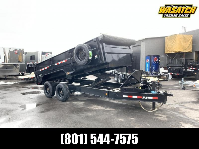 2020 PJ Trailers 16 ft - HD Low-Pro Dump (DE) Dump Trailer
