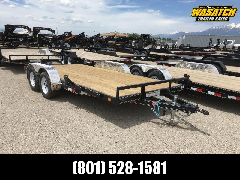 "Pj Trailer 7x20 4"" Channel (C4) Car Hauler"