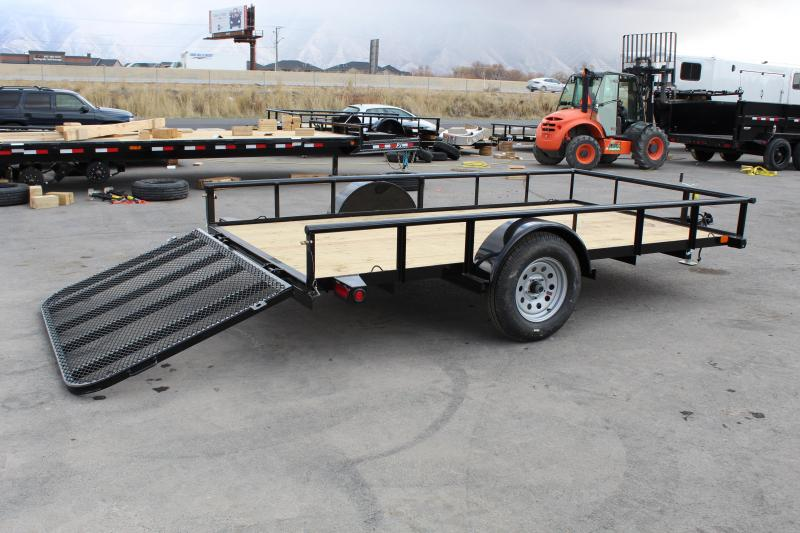 ***PJ Trailers 6.5x12 Single Axle Angle (E7) Utility Trailer***
