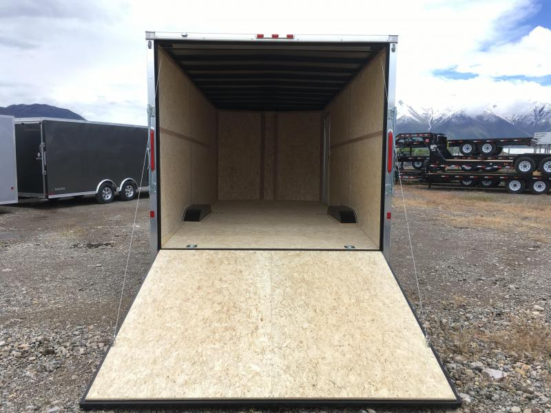 Charmac 8.5x20 Stealth Enclosed Steel Cargo