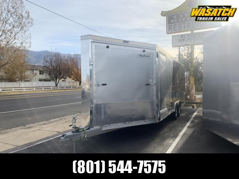 2020 Haulmark 28ft Aluminum Venture Snowmobile Trailer
