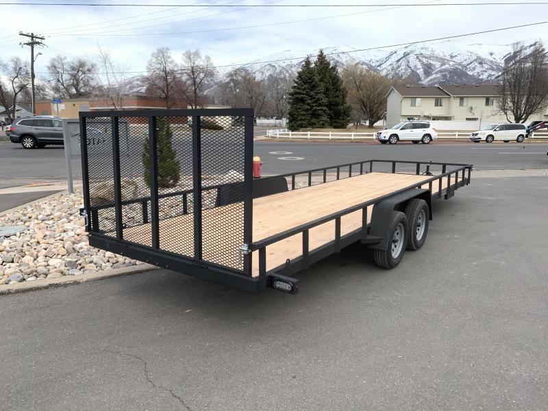 ***Charmac 7x24 Rugged Steel Utility Trailer***