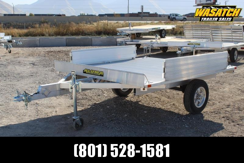 "Aluma 88""x8' ATV Trailer w/ Ramps"