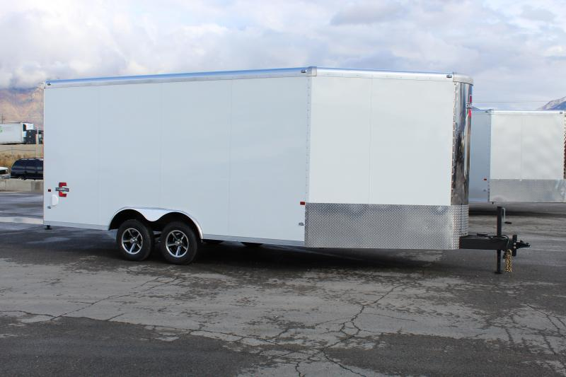 Charmac Trailers 8.5x22 Stealth Tri Sport Snowmobile Trailer