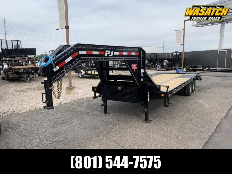 PJ 25 ft - Low-Pro w/ Duals (LD) Flatbed Trailer
