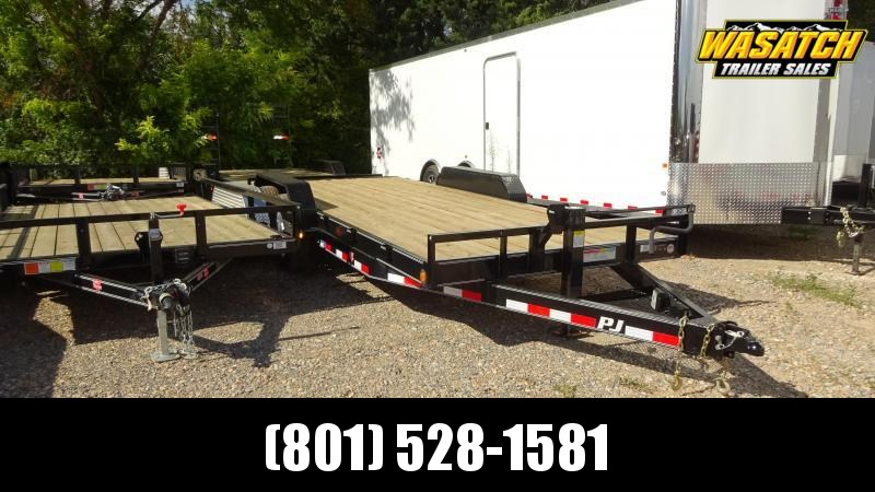 "PJ Trailers 7x20 6"" Channel Equipment (CC) Equipment Trailer"