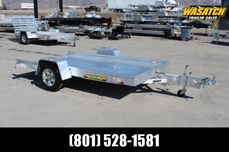 "Aluma 68""x10' Aluminum Tilt Utility Trailer"