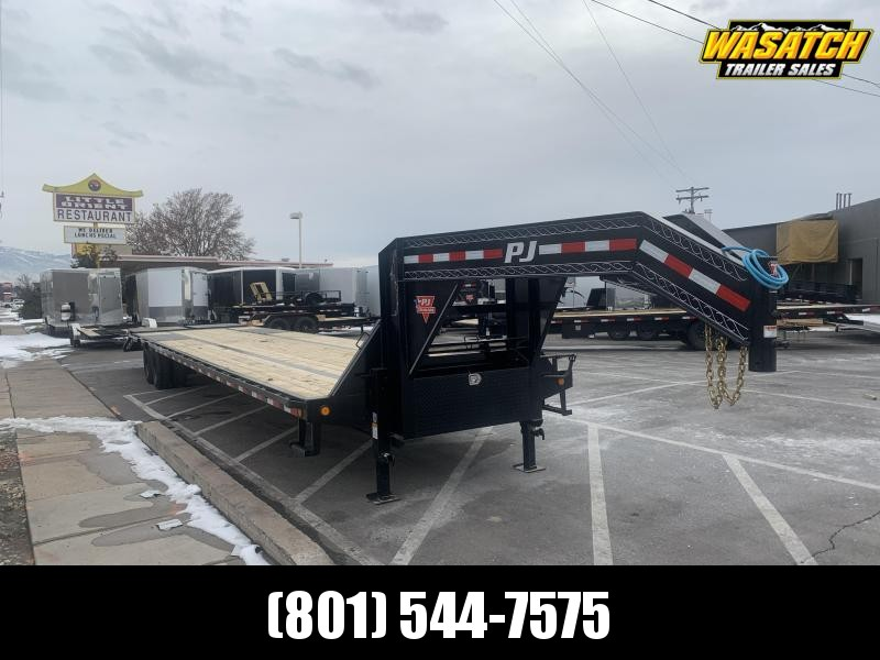 2020 PJ Trailers 40 ft - Low-Pro Flatdeck with Duals (LD) Flatbed Trailer