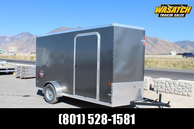 Charmac 6x12 Stealth Enclosed Steel Cargo Trailer w/ V-Nose