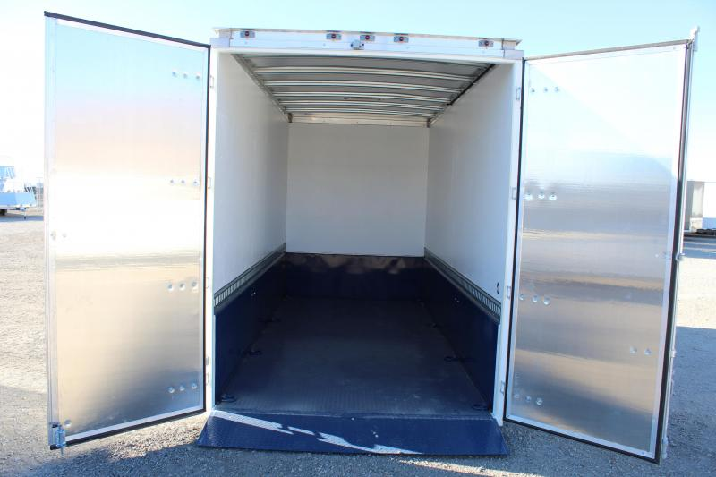Air Tow 7x16 Enclosed Hydraulic Lift Cargo Trailer