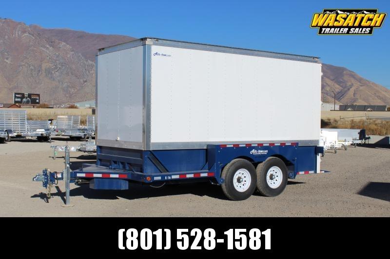 Air Tow 7x16 Enclosed Hydraulic Lift Cargo Trailer