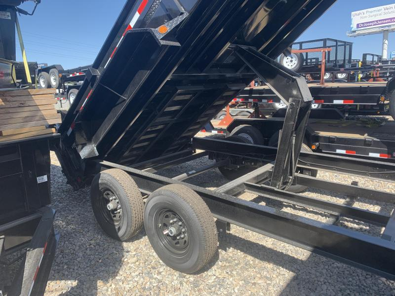 PJ Trailers 7x14 Low-Pro (DL) Dump Trailer w/ 2' High Sides