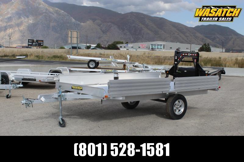 Aluma 7x12 Aluminum ATV Trailer w/ Side Ramps