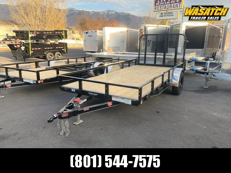 2020 PJ Trailers 77 in. Single Axle Channel Utility (U7) Utility Trailer