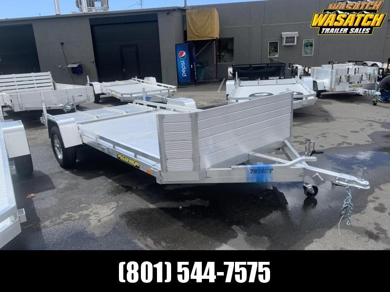 Aluma 7814ST Aluminum Utility