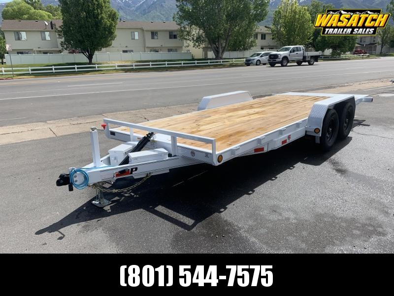 PJ 20' Hydraulic Tilt Equipment Trailer