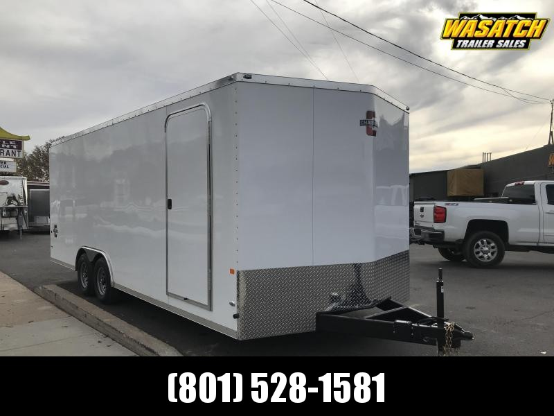 Charmac 100x22 Stealth Enclosed Steel Cargo