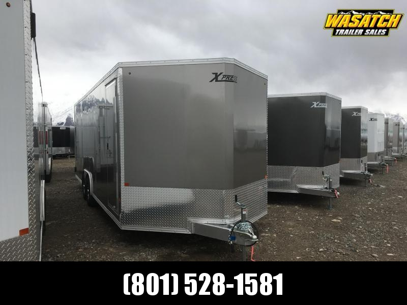 High Country 8x24 Xpress Enclosed Aluminum Cargo w/ White Walls