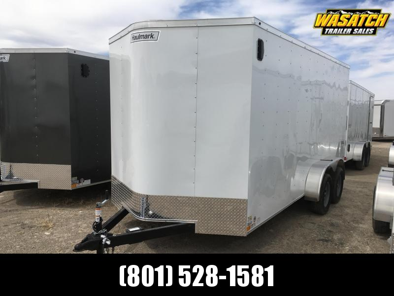 Haulmark 7x16 Passport Enclosed Steel Cargo w/ V-nose