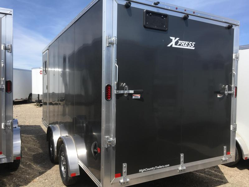 High Country 7.5x16 Xpress Enclosed Aluminum Cargo w/ Finished Interior