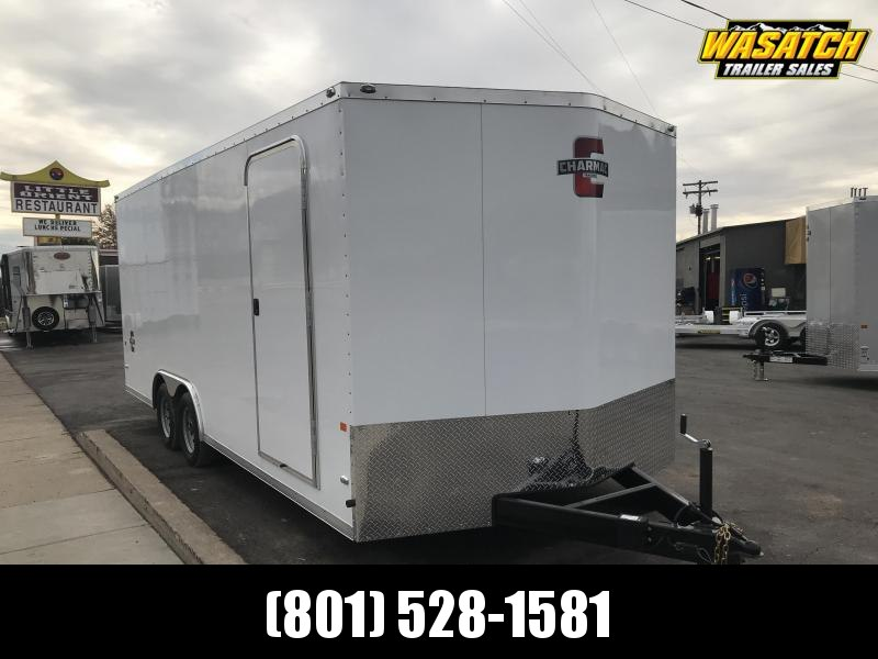 Charmac 100x20 Stealth Enclosed Steel Cargo