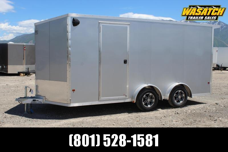Alcom 7.5x16 EzHauler Enclosed Aluminum Cargo Trailer