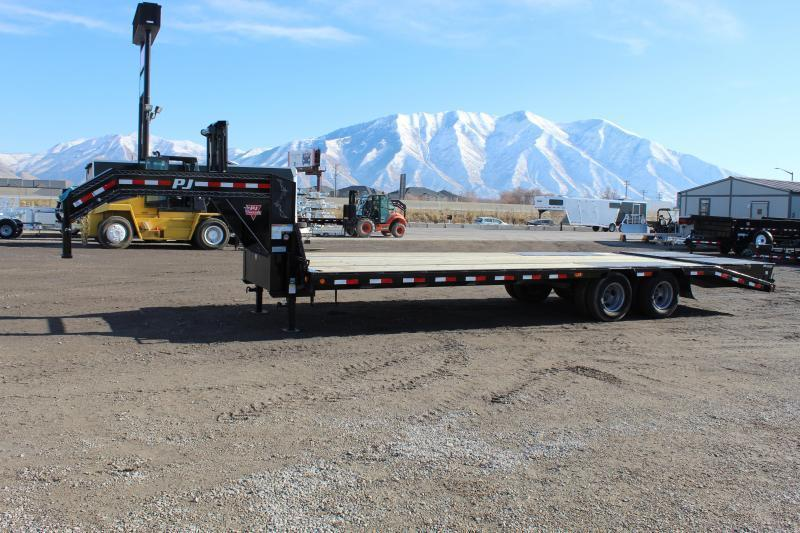 PJ Trailers 8.5x25 Low-Pro Flatdeck With Duals (LD) Flatbed Trailer