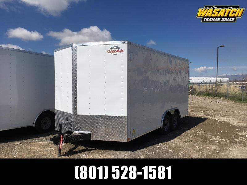2019 Cargo Mate 8.5x16 Car Hauler Enclosed Cargo Trailer