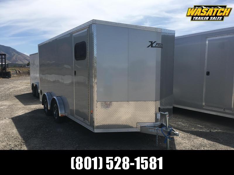 High Country 7.5x16 Xpress Enclosed Aluminum Cargo w/ V-nose