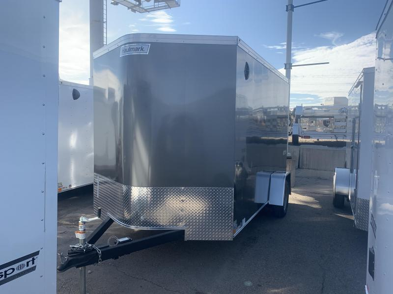 2020 Haulmark 7x12 Single Axle Transport w/ Ramp Enclosed Cargo Trailer