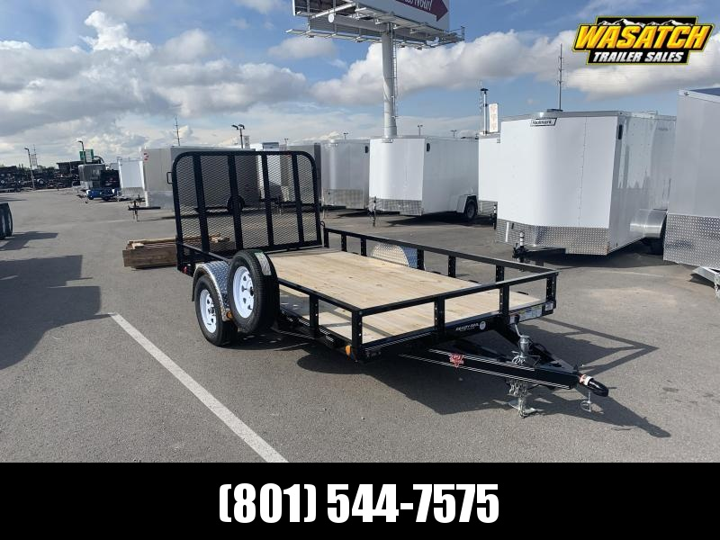 6.5x12 PJ Single Axle Channel (U7) Utility Trailer