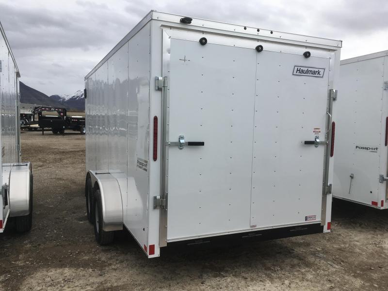 Haulmark 7x16 Passport Enclosed Steel Cargo w/ V-nose