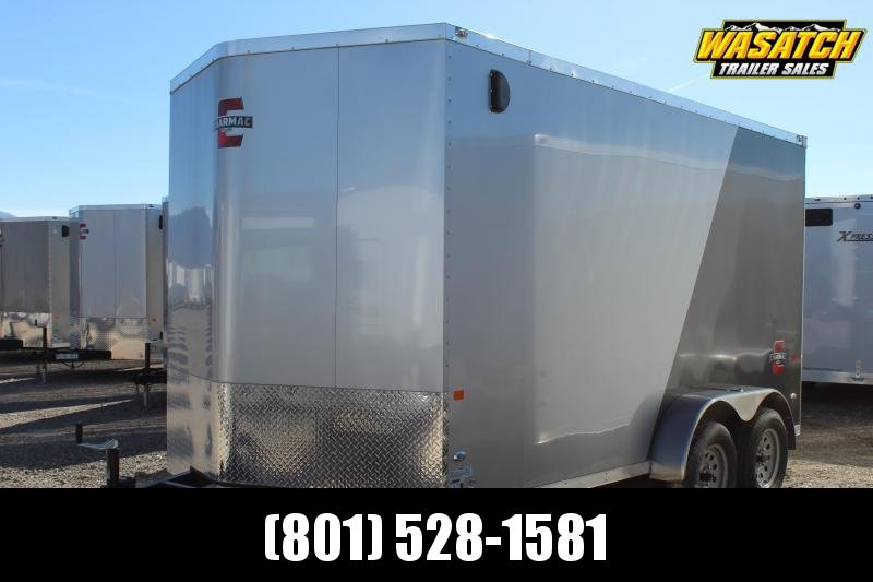 Charmac 7x14 Stealth Enclosed Steel Cargo Trailer w/ V-Nose