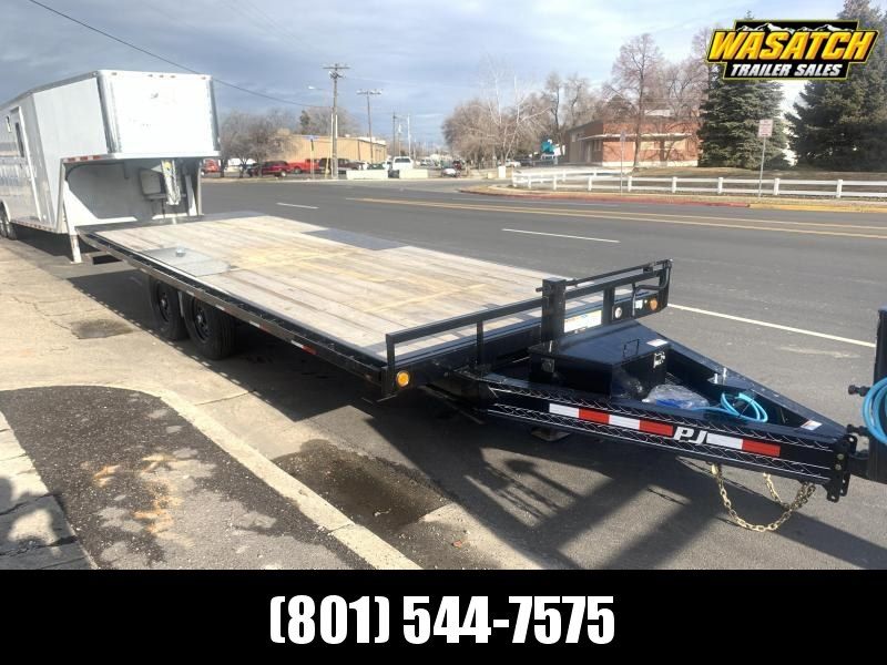 2020 PJ Trailers 22 ft - Deckover Tilt (T8) Equipment Trailer